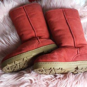 Chooka Burnt Orange Comfortable Boots